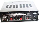 Усилитель UKC PA-329BT 5721 с караоке, фото 3