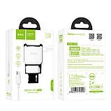 Адаптер питания HOCO C59A micro USB, фото 3