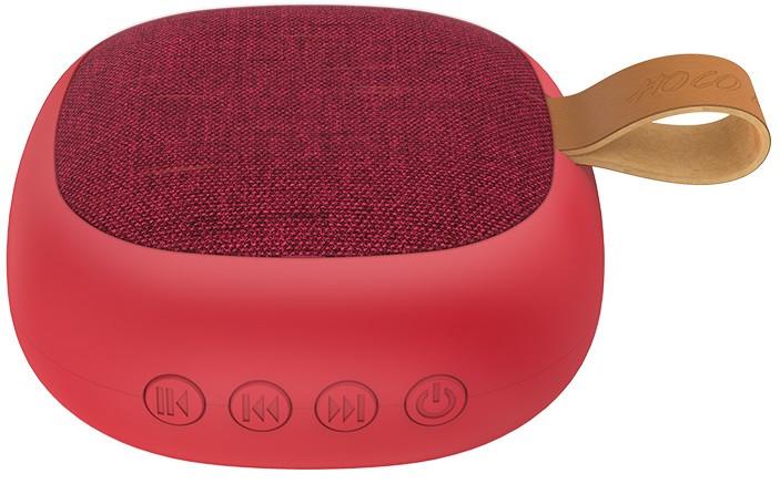 Портативная Bluetooth колонка HOCO Bright sound sports BS31, красная