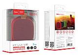 Портативная Bluetooth колонка HOCO Bright sound sports BS31, красная, фото 2