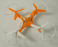 Квадрокоптер радиоуправляемый Voyager HX739 2.4Ghz, оранжевый, фото 1