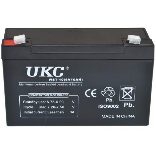 Акумулятор UKC Battery WST-10 6V 10A