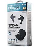 Навушники Bluetooth REMAX True TWS-6 в кейсі, білі, фото 7