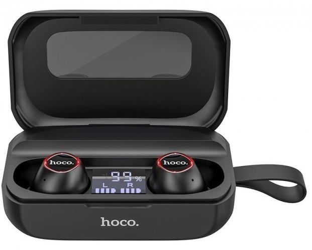 Наушники Bluetooth TWS HOCO Treasure song ES37, черные