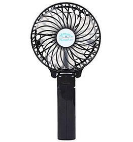 Ручной мини вентилятор трансформер handy mini fan с аккумулятором 18650 Black