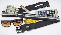 Сумка на пояс спортивная, сумка для бега чехол Go Belt, фото 4