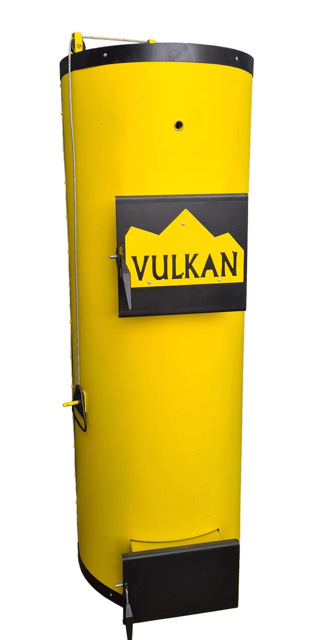 Котел твердотопливный Vulkan candle U 40 кВт. Бесплатная доставка!