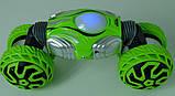 Машинка-перевертыш на радиоуправлении J2888, зеленая, фото 3