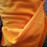 Трёхнитка с начесом хлопок Оранжевая