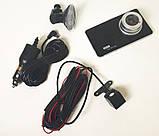 Відеореєстратор DVR Z30 з двома камерами 6910, фото 6