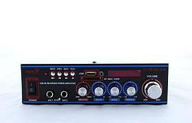 Підсилювач UKC AV-316BT караоке Bluetooth