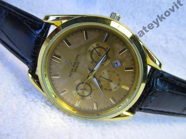 Мужские часы *Patek Philippe* календарь