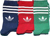 Носки мужские в стиле Adidas 42-45 размер. Высокие. 12 пар.