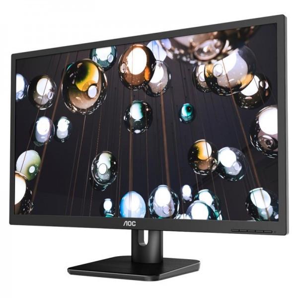 """Монитор AOC 27"""" 27E1H IPS Black; 1920x1080, 250 кд/м2, 5 мс, D-Sub, HDMI"""
