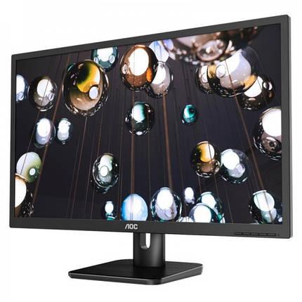 """Монитор AOC 27"""" 27E1H IPS Black; 1920x1080, 250 кд/м2, 5 мс, D-Sub, HDMI, фото 2"""