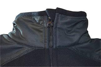 Кофта тактична флісова синя (ДСНС, пожежники), фото 2