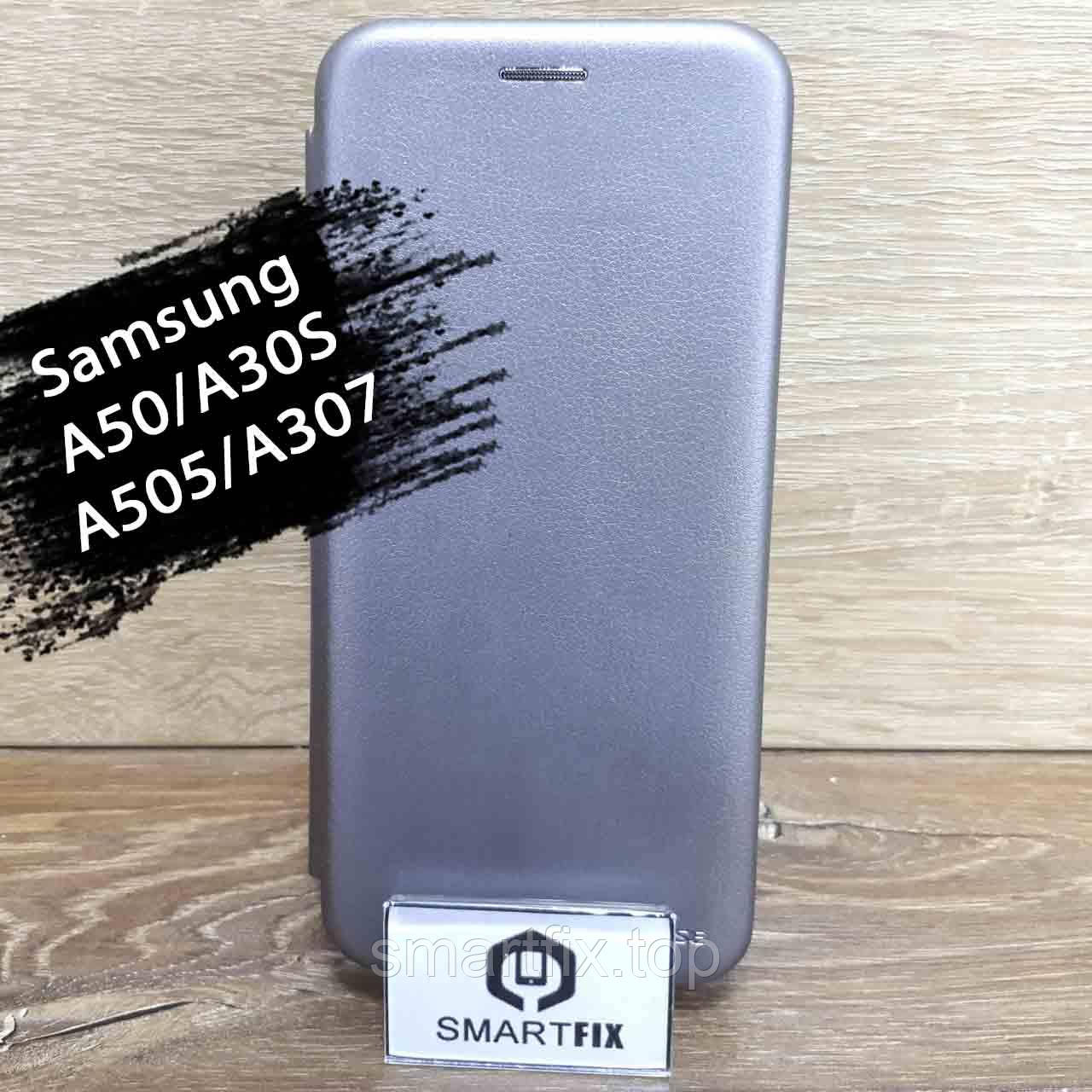 Чехол книжка для Samsung A50 G-Case