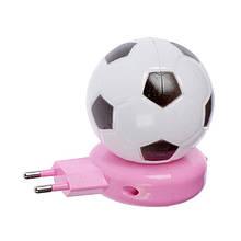 Ночник в розетку Футбольный мячик