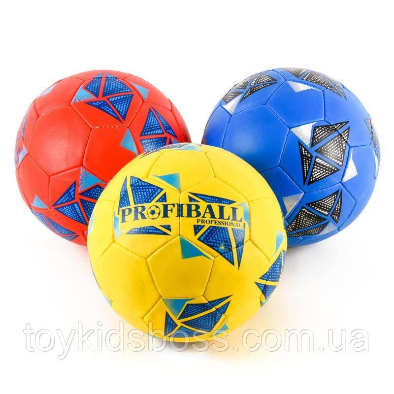 Мяч футбольный размер 5, ПУ,Ручная работа