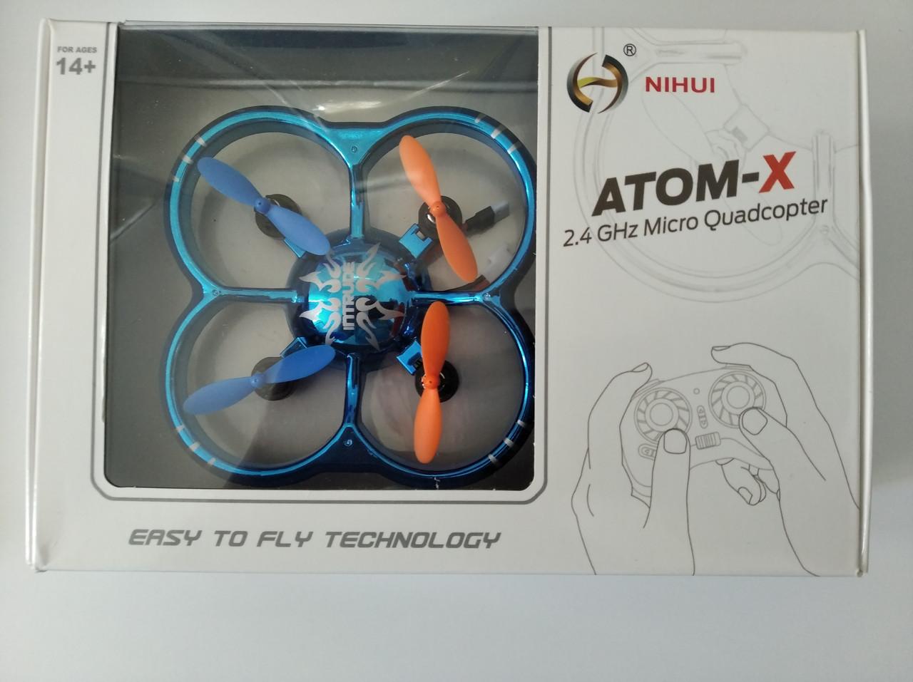 Мини-Квадрокоптер нано Дрон ATOM-X U207