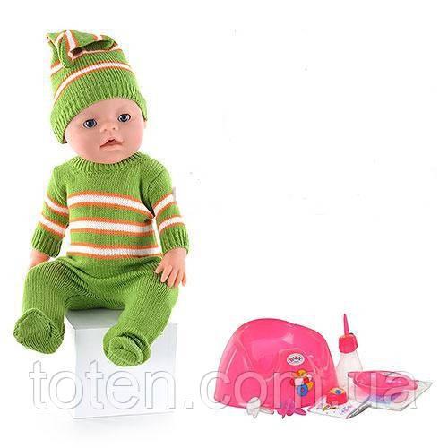 Пупс кукла Маленькая Ляля BB 8001-H (Зима)  новорожденный с аксессуарами