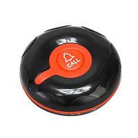 Водонепроницаемая кнопка вызова официанта и персонала RECS R-300 Black Red USA