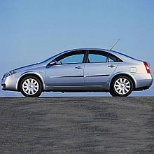 Молдинги на двері для Nissan Primera P12 2001-2008