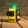 Лазерный уровень нивелир 3D Firecore F93T-XG Бирюзовый луч, фото 2
