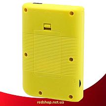 Игровая приставка SUP Game Box 400в1 Желтая - Приставка Dendy для двух игроков с джойстиком, подключением к ТВ, фото 3