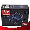 Игровая приставка SUP Game Box 400в1 Желтая - Приставка Dendy для двух игроков с джойстиком, подключением к ТВ, фото 4