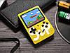 Игровая приставка SUP Game Box 400в1 Желтая - Приставка Dendy для двух игроков с джойстиком, подключением к ТВ, фото 6