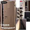 """Входная дверь для улицы """"Портала"""" (серия Концепт RAL) ― модель Диагональ 2, фото 5"""