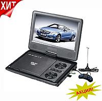 """Портативный DVD телевизор Т2 9,8"""" EVD NS-958 + USB + SD с джойстиком, автомобильный телевизор"""