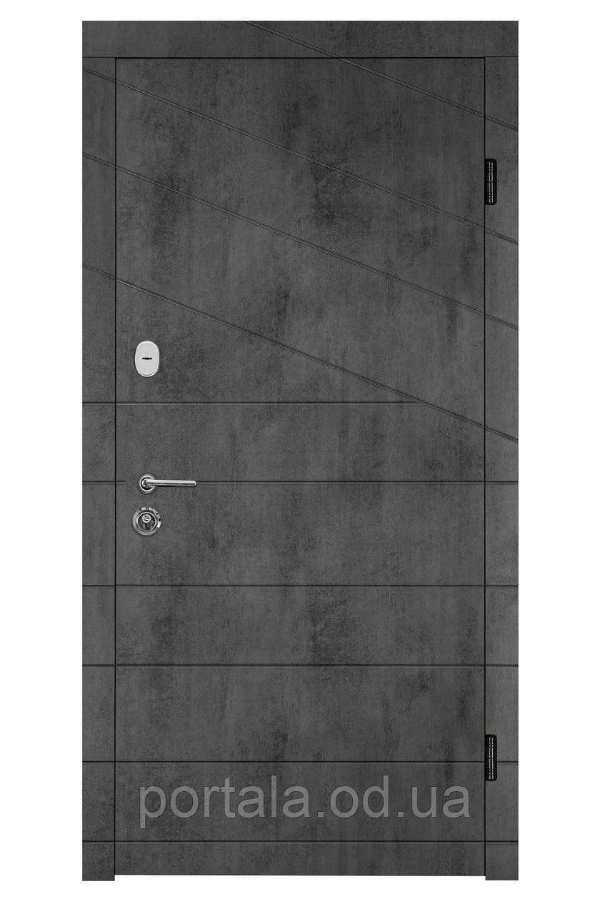 """Входная дверь для улицы """"Портала"""" (серия Концепт RAL) ― модель Диагональ 2"""