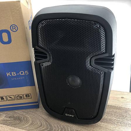 KIPO KB-Q5 портативная Bluetooth Колонка с микрофоном беспроводная Кипо блютуз, фото 2