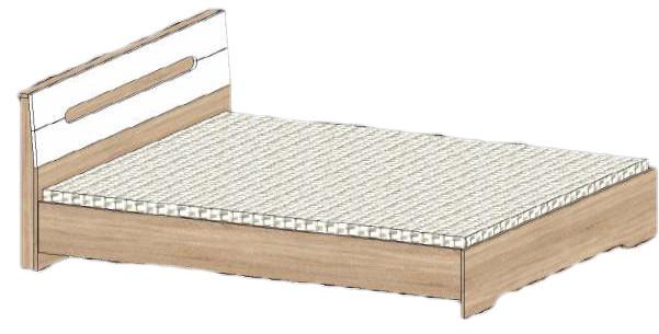 Кровать Стиль СМ-1400 Сучасні Меблі