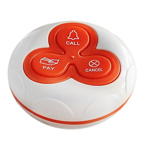 Кнопка вызова официанта R-333 Red RECS для ресторана у моря