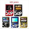 Игровая приставка SUP Game Box 400в1 Черная - Приставка Dendy с подключением к ТВ, портативная консоль 400 игр, фото 6