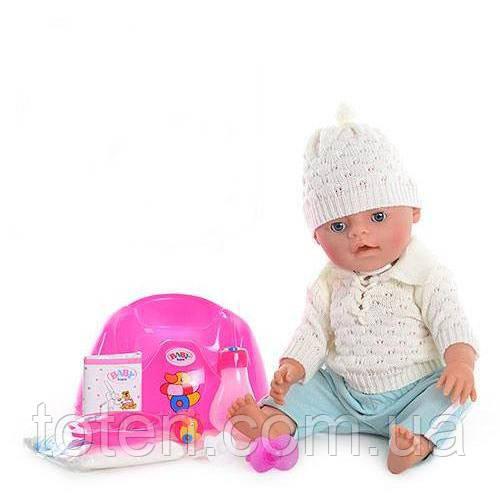 Пупс кукла  Маленькая Ляля  BB 8001-E (Зима) новорожденный с аксессуарами