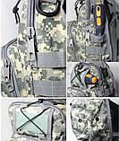 Тактическая военная сумка рюкзак OXFORD 600D Coyote, фото 4