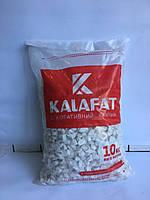 Декоративный Камень Белая Мраморная крошка Kalafat (упаковка 10кг) Фракция 12-18 мм