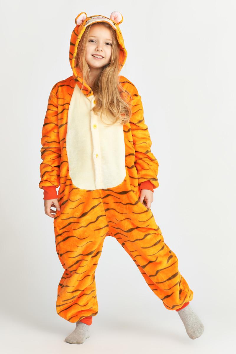 Пижама кигуруми для детей Тигр Funny Mood