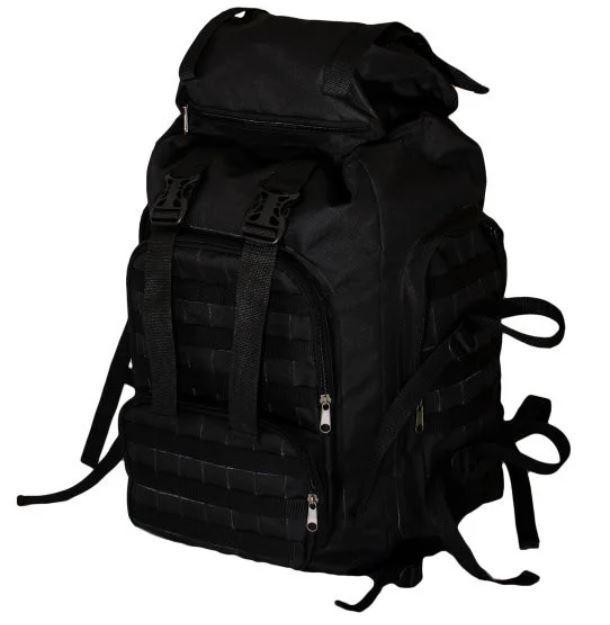 Рюкзак тактический 159-01 65 л, черный
