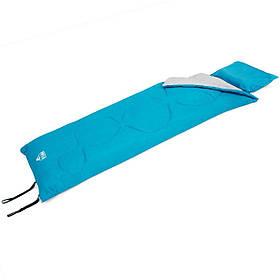 Спальний мішок-ковдра з подушкою Bestway 68100 Evade 10, блакитний