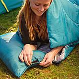 Спальный мешок-одеяло с подушкой Bestway 68100 Evade 10, голубой, фото 6