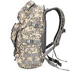 Рюкзак тактический B35 50 л, песочный, фото 2