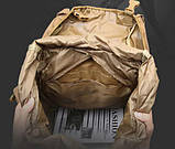 Рюкзак тактический A21 70 л, песочный, фото 5