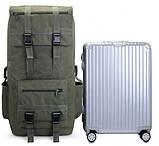 Рюкзак туристический X110A 110 л, черный, фото 3