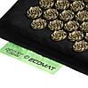 Килимок акупунктурний з валиком 4FIZJO Eco Mat Аплікатор Кузнєцова 68 x 42 см масажний килимок, фото 2