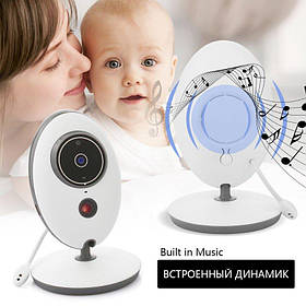 Видеоняня с дистанционным монитором Baby Monitor VB605